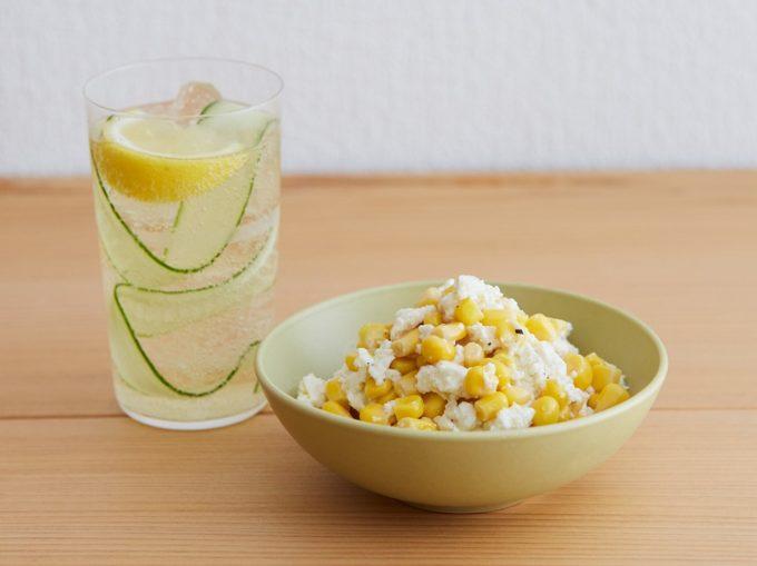 夏バテ予防におすすめ、「なんちゃってピムス」と「コーンの白和え」レシピ