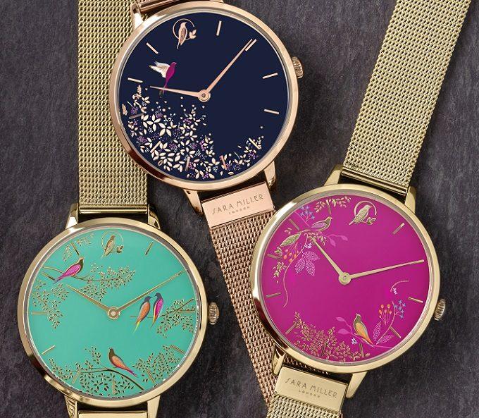 華やかで女性らしい「サラミラーロンドン」の腕時計3