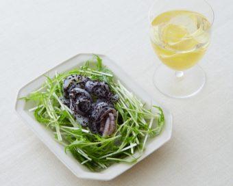 ダイエット中におすすめ。「しょうがワイン」と「いか刺しの赤しそ和え」レシピ