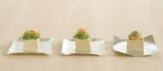 食器ブランド「syouryu」の好きな形に曲げられる錫製お皿「すずがみ」1