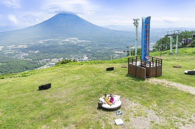 「ニセコ グラン・ヒラフ」の展望スポット〜#NISEKO SIESTA〜2