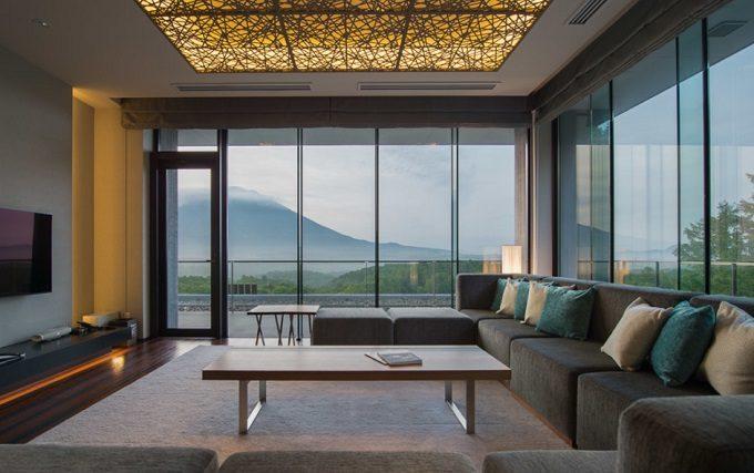 コンドミニアム「綾ニセコ」の客室からの眺望