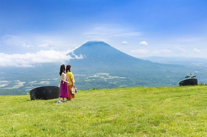 「ニセコ グラン・ヒラフ」の展望スポット〜#NISEKO SIESTA〜3