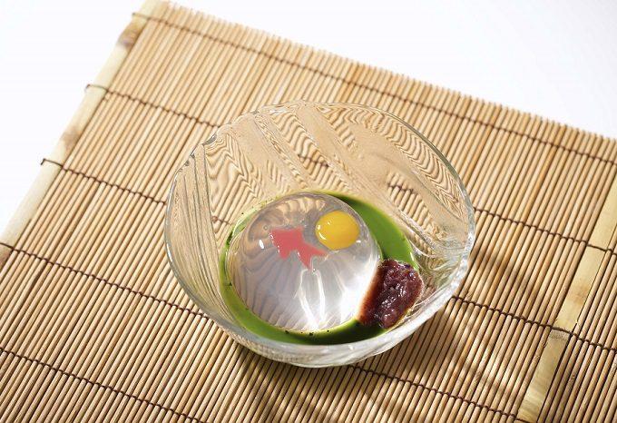 辻利兵衛本店の夏のおすすめ手土産「抹茶おとと」2