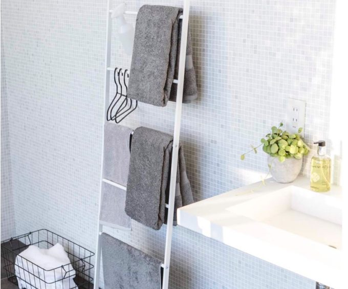 洗面所の簡単収納アイデア3
