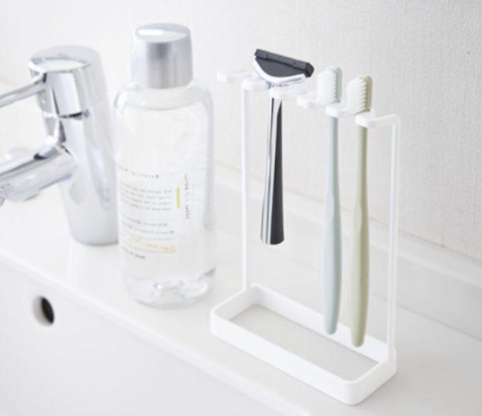 洗面所の簡単収納アイデア4