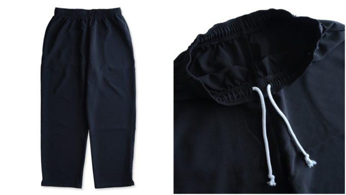 着やせ効果が期待できる、大人の女性におすすめの「VOIRY ヴォイリー」の黒パンツ