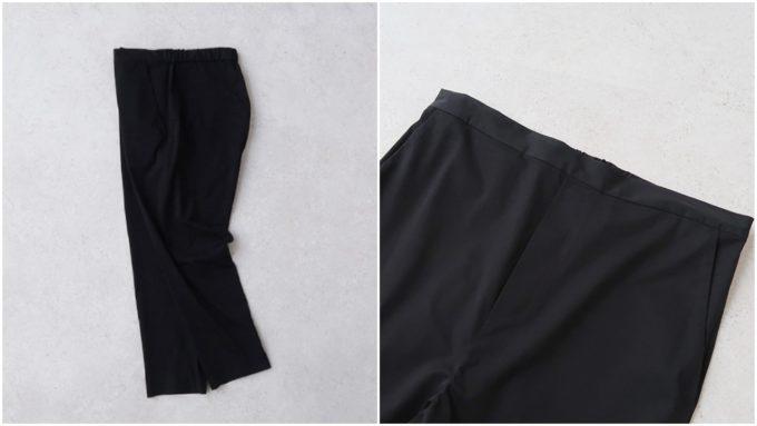 着やせ効果が期待できる、大人の女性におすすめの「OLDMANS TAILOR オールドマンズテーラー」の黒パンツ