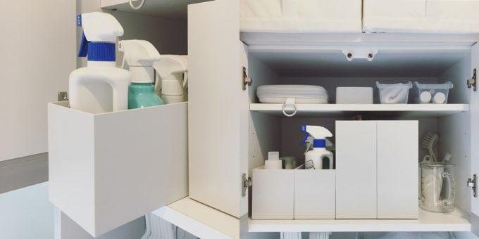 洗面所の簡単収納アイデア11