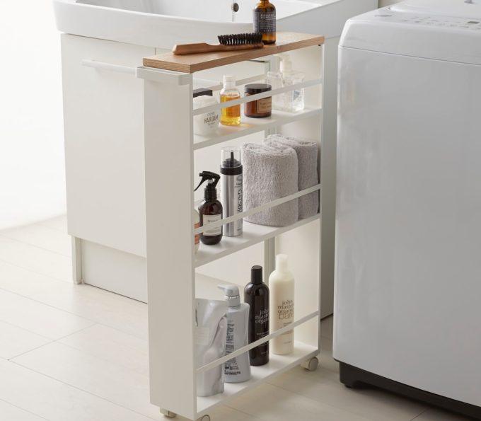 洗面所の簡単収納アイデア17