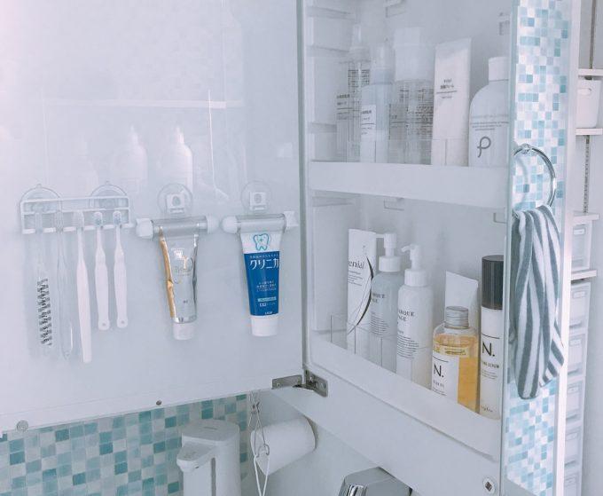 洗面所の簡単収納アイデア21