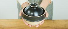 火加減調整なしに米が炊ける、益子焼の土鍋「kamacco」1