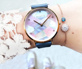 変わりたいと願う女性に寄り添う。ジュエリーのように輝く「ALETTE BLANC」の腕時計