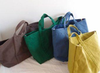 柔らかな風合いとベイクドカラーが今の気分。「BLUESTORE's」のトートバッグ特集