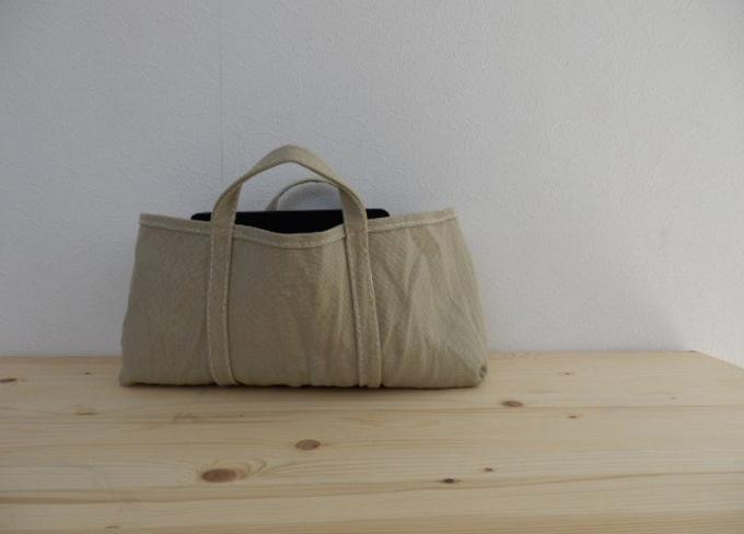 柔らかな風合いとベイクドカラーが魅力の「BLUESTORE's」の帆布トートバッグ5