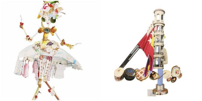 フォトコラージュアーティスト・チヒロボさんのトチドールとヨーロッパシリーズの作品