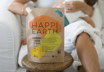 1袋で400回洗濯可能。地球にもお肌にも優しい「HAPPI」のオーガニックな洗剤