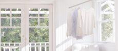 室内干しにおすすめ、インテリアを邪魔しない物干しシリーズ「hoss nagae(ホスナガエ)」