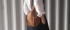大人女子におすすめのシンプルで上品な「Chiihao(チイハオ)」の巾着バッグ1