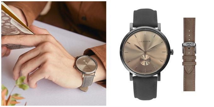 デンマーク発腕時計ブランド「LLARSEN(エルラーセン)」の「Nikolaj」の新作2