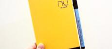 何度も書いて消せるノートタイプのホワイトボード「nu board(ヌーボード)」1