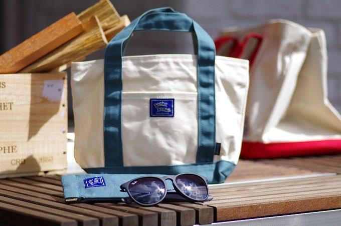 フィッシング雑貨ブランド「PechePeche」の撥水帆布トートバッグ