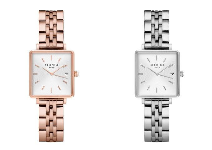 「ROSEFIELD(ローズフィールド)」のシンプルで上品なスクエア型の腕時計「The Boxy XS」2