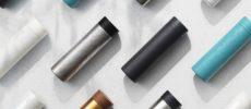 ステンレス製品ブランド「SEVEN SEVEN」の「TSUTSU」シリーズの様々な質感のタンブラー1