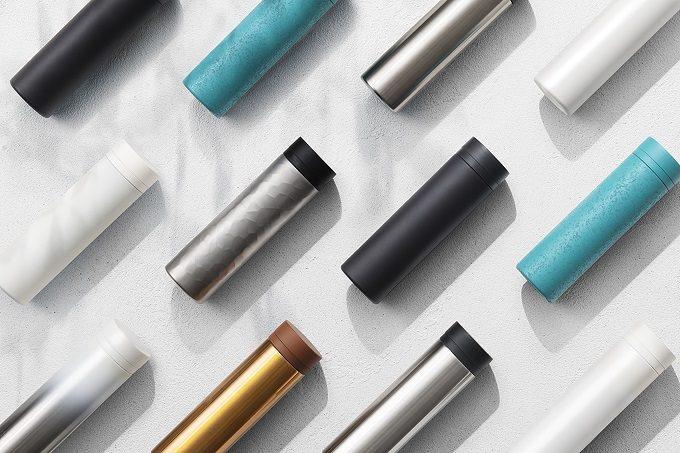 ステンレス製品ブランド「SEVEN SEVEN」の「TSUTSU」シリーズの様々な質感のタンブラー2