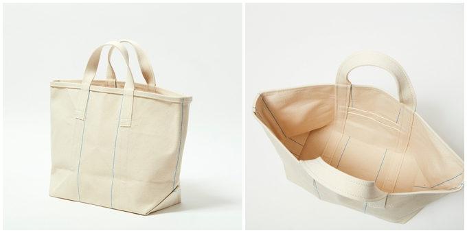 バッグブランド「SLOW」の帆布トート「Vintage tool tote bag」