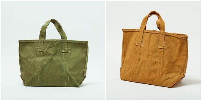バッグブランド「SLOW」の帆布トート「Vintage Tool Bag 草木染」