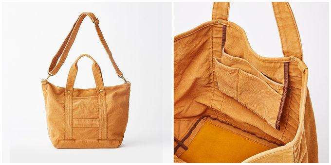バッグブランド「SLOW」の帆布トート「TOOL ー2way tote bag」