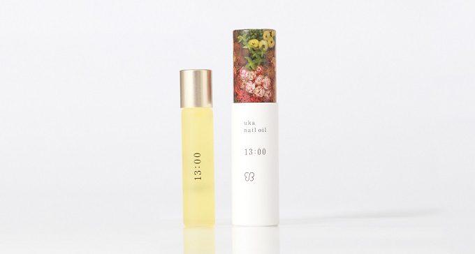 日常の中でネイルケアする時間を想定した「uka nail oil(ウカ ネイルオイル)」の日中用オイル「13:00(イチサンゼロゼロ)」