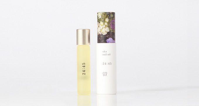 日常の中でネイルケアする時間を想定した「uka nail oil(ウカ ネイルオイル)」の夜用オイル「24:45(ニイヨンヨンゴ)」