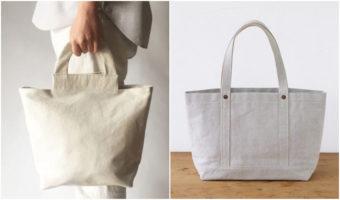 お気に入りを見つけて、長く使いたい。シンプル&おしゃれな白トートバッグ特集