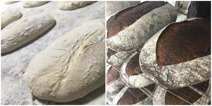 和歌山のパン屋「3ft」のパン製造工程
