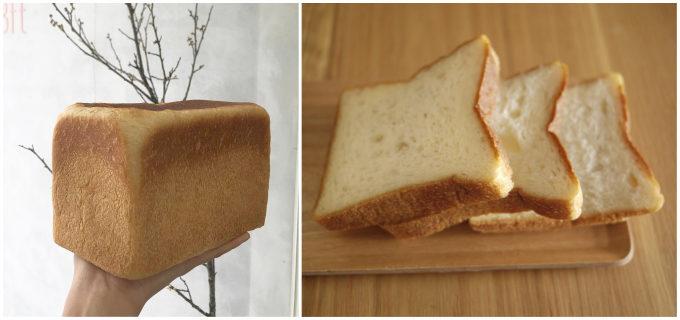 和歌山のパン屋「3ft」の食パン「お角」