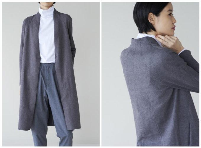 働く女性におすすめ「KNITOLOGY(ニットロジー)」の仕事服、「Women's Coat(コート)」