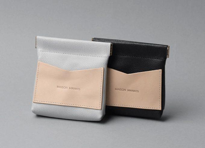 革小物ブランド「MAISON MANKITI(メゾン マンキチ)」の「ワンタッチ・コインケース」1