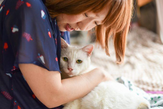 人形洋服作家・ナナノフさんと愛猫