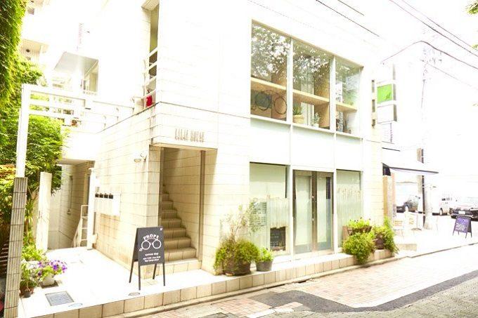 中目黒の眼鏡店「PROPS」の外観