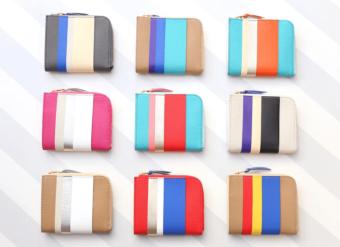 ストライプで表現される豊かな色彩。使うほどに愛着がわく「RIOWA」のレザーアイテム
