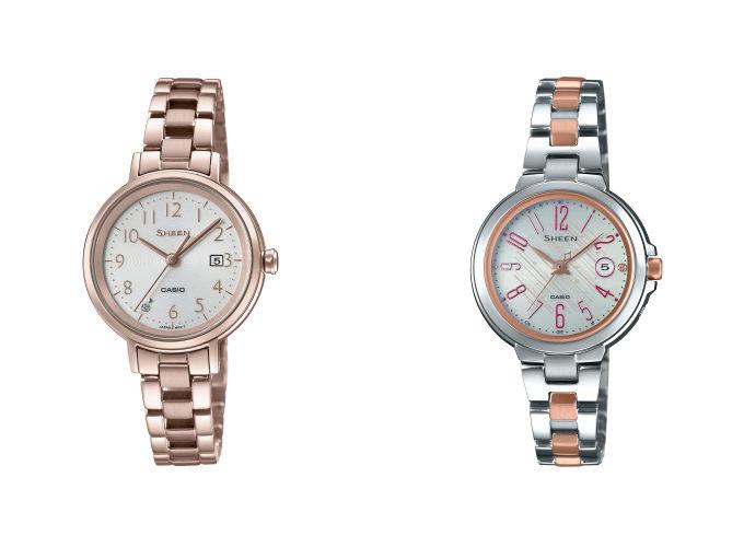 大人の女性におすすめの腕時計、カシオの「SHEEN」2