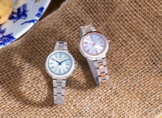 大人の女性におすすめの腕時計、カシオの「SHEEN」3