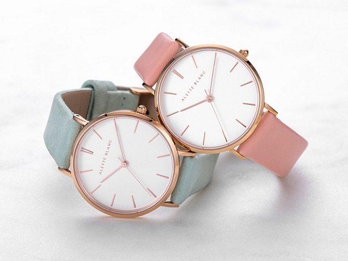 大人女子におすすめのALETTE BLANCの新作腕時計「パレットコレクション」2