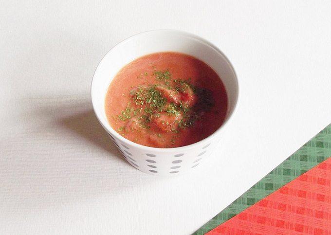 甘酒を使った絶品レシピ「トマトスープ」