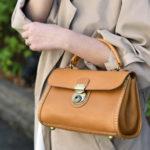 だから、長く愛用したくなる。職人が一つひとつ丁寧に作る「HERZ」のハンドバッグ