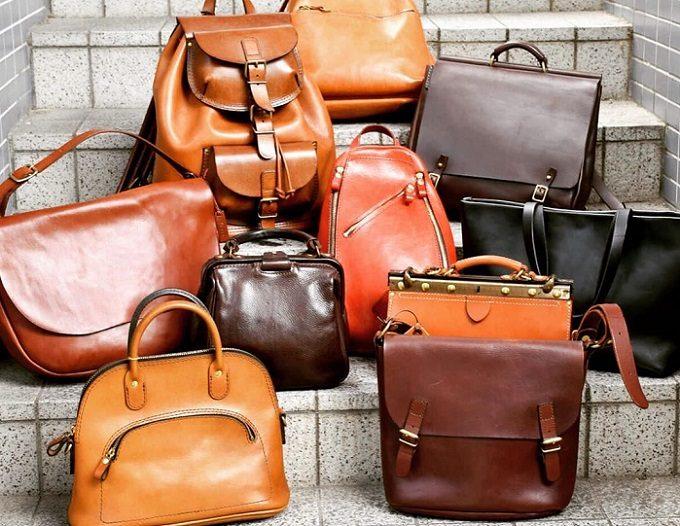 職人が一つひとつ丁寧に作る「HERZ」のさまざまな革のバッグ