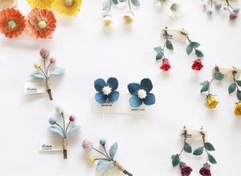 思い出を形に残す。大切なお花で染色して作られる「Kahon」のアクセサリー