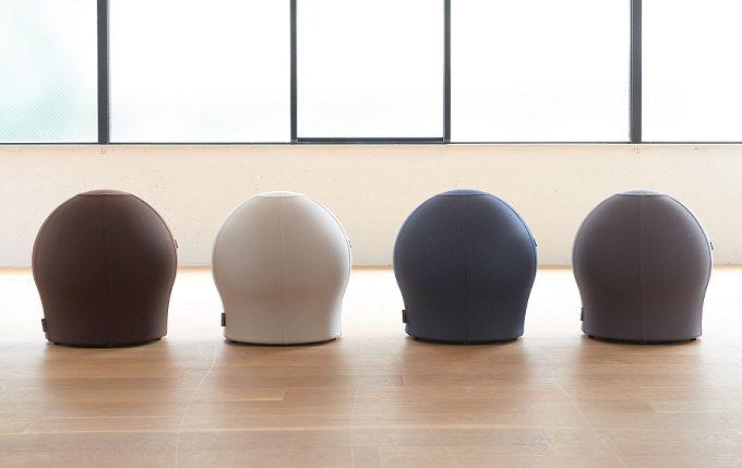 椅子に座る感覚で体幹が鍛えられるバランスボール「MAROOMS」2